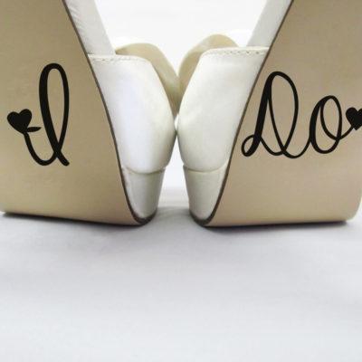 I Do Shoe Vinyl