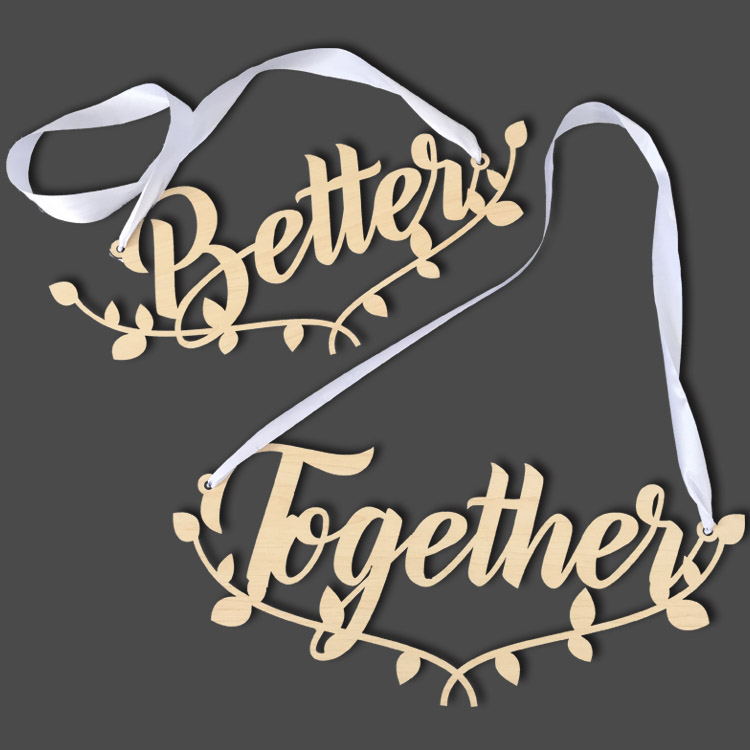 Better Together Matching Chairback set