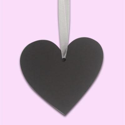 Hanging Chalkboard Heart