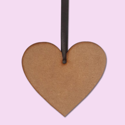 Plain hanging heart