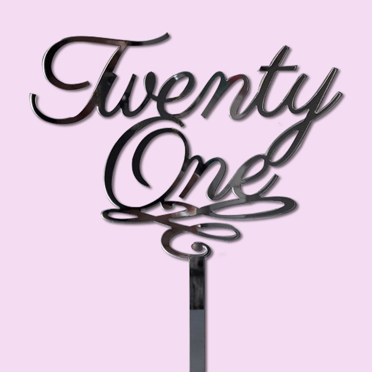 Twenty One Cake Topper For Birthday Cakes Cape Town South