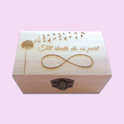 Infinity Engraved Little Box