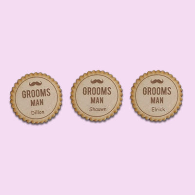 Custom Bridal Party Badge