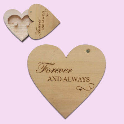 Forever & Always Heart Ring Holder