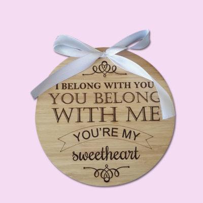 My Sweetheart Ring Holder