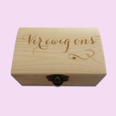 Vir Ewig Ons Little Box