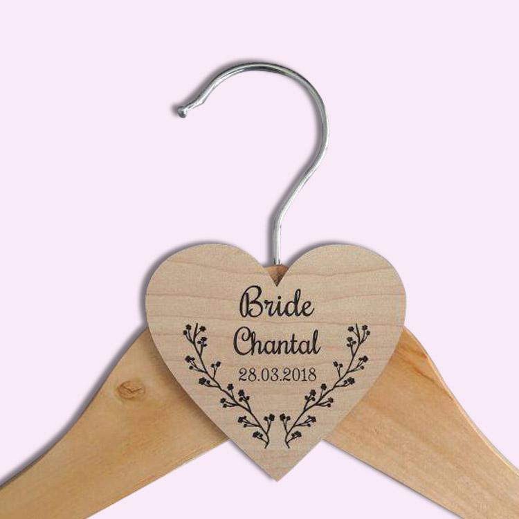 custom heart hanger