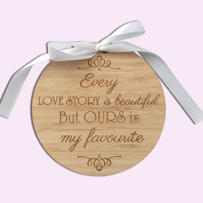 Love Story Ring Holder