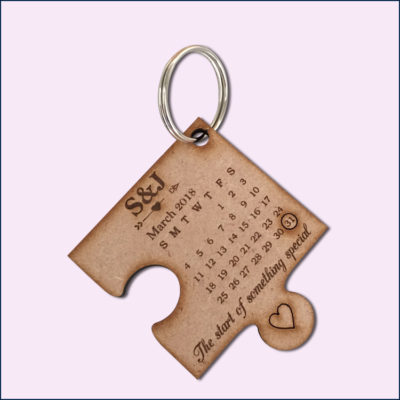 Custom Puzzle Key Rings
