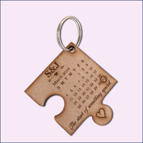Custom Puzzle Key Rings