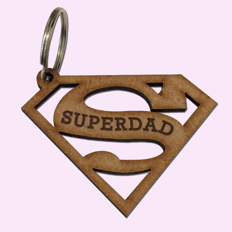 Superdad Key Rings