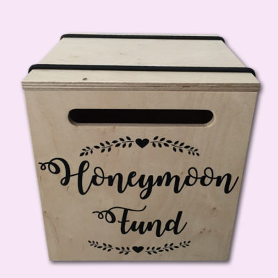 Honeymoon Fund Envelope Gift Box