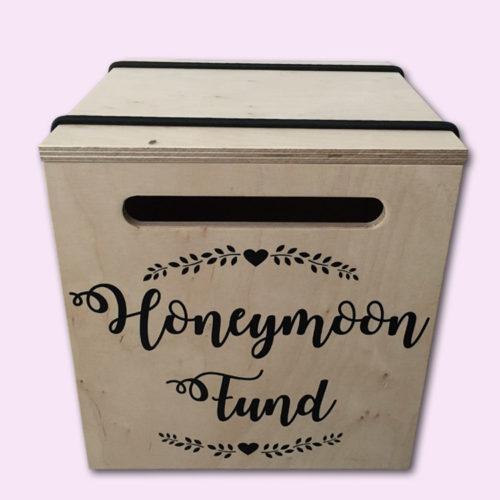 Honeymoon Fund Envelope Gift Box