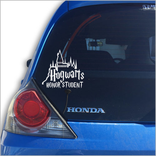 Hogwarts Car Vinyl