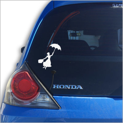 Mary Poppins Car Vinyl