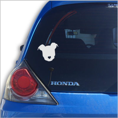 Puppy Love Car Vinyl