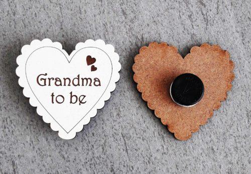 Grandma to Be Badge