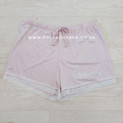 Bridesmaid Pyjama Shorts