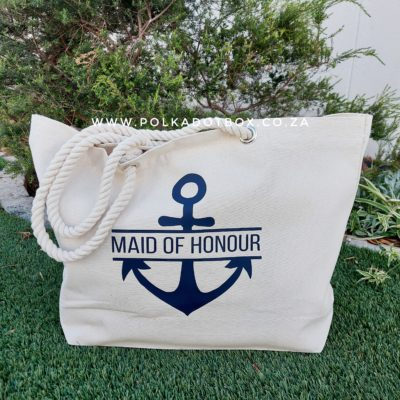 Maid Of Honour Anchor Bag