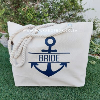 Bride Anchor Beach Bag