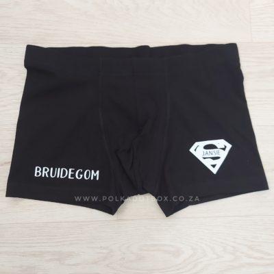 Custom Bruidegom Briefs