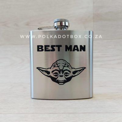Yoda Hip Flask