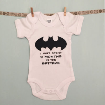 Custom Batman Onesie