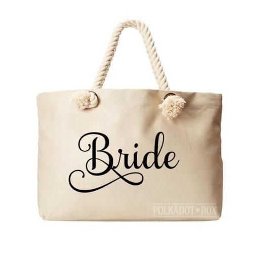 Bride Beach Bag