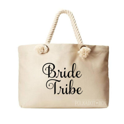 Bride Tribe Beach Bag