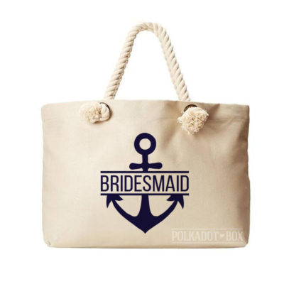 Bridesmaid Anchor Beach Bag