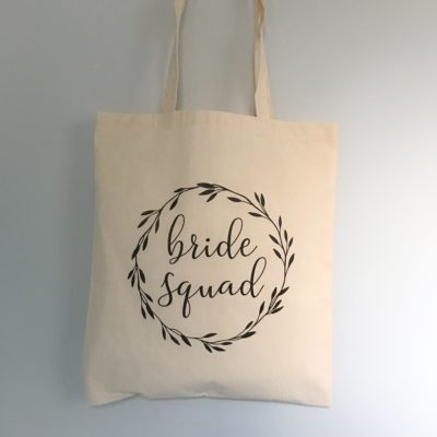 Bride Squad Tote Bag