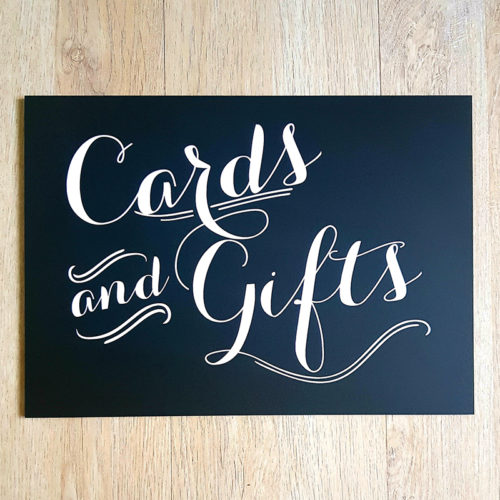Cards & Gifts Signage