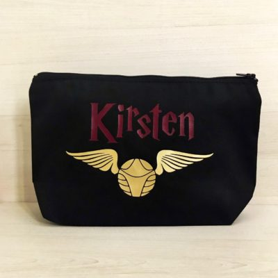 Custom Snitch Make Up Bag