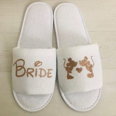 Disney Bride Slippers