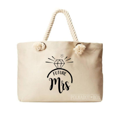 Future Mrs Beach Bag