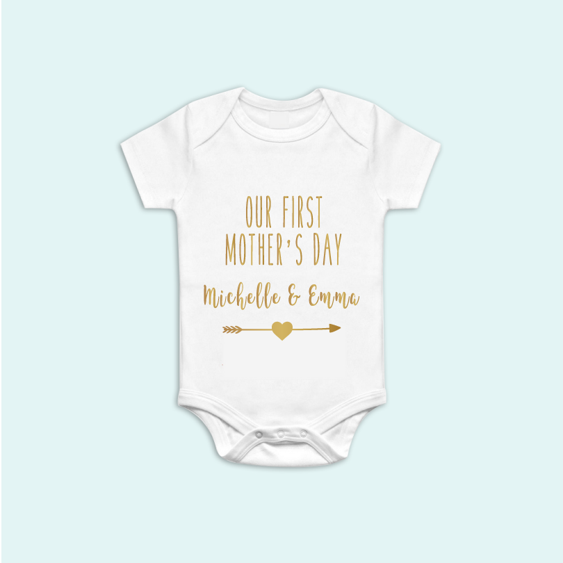 Custom Mother's Day Onesie