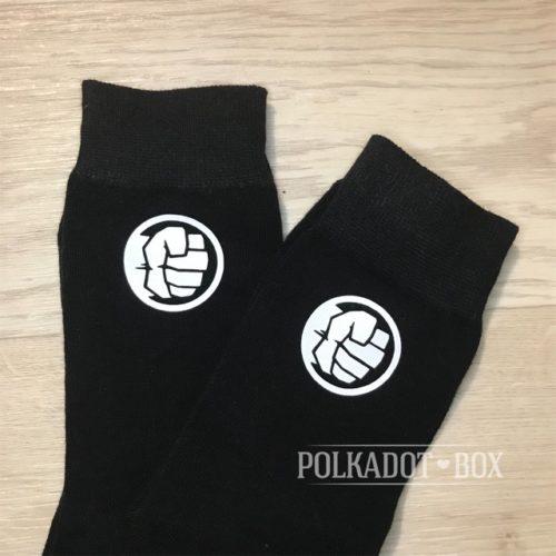 Hulk Logo Socks