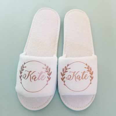 Custom Name Slippers