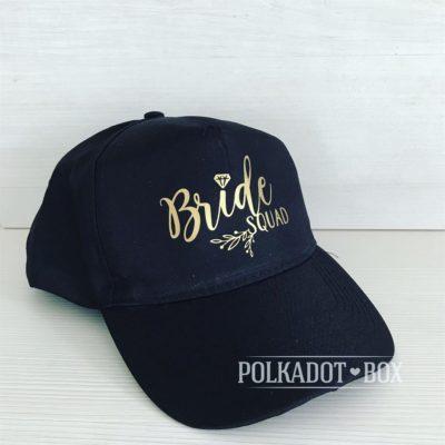 Bride Squad Peak Cap