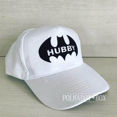Batman Hubby Peak Cap