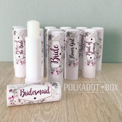 Bridal Party Lip Balms