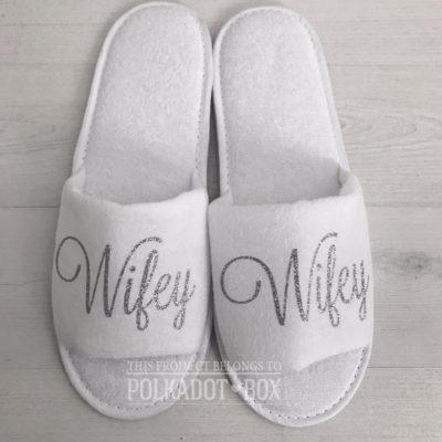 wifey slippers