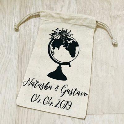 Bridal Drawstring Bag