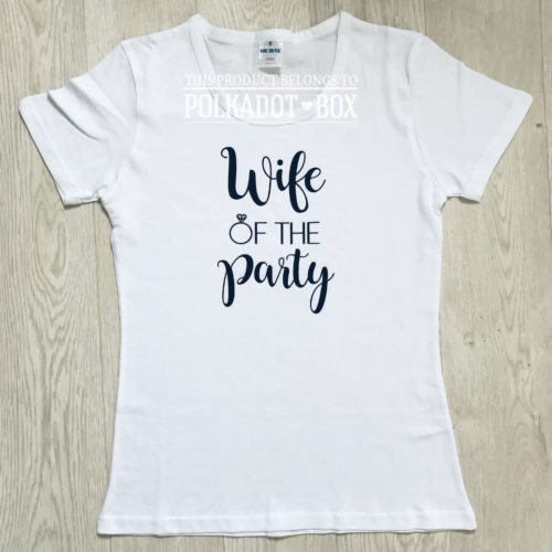 wife of the party top