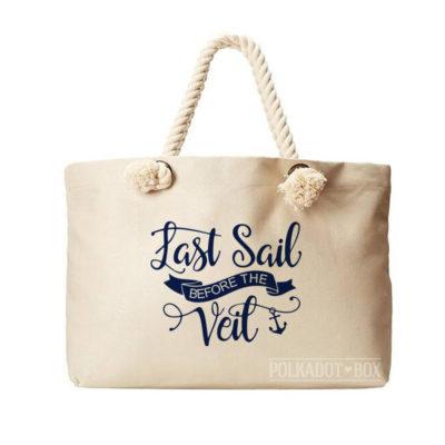 Last Sail Beach Bag