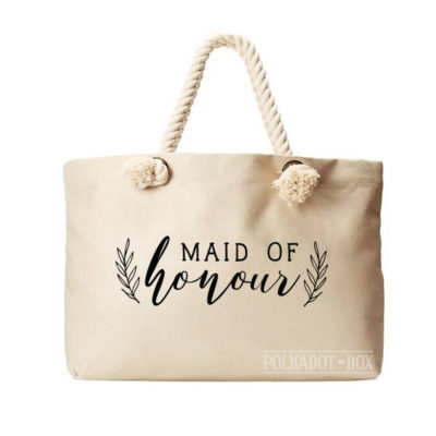 Maid of Honour Fern Beach Bag