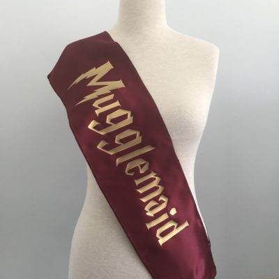 Mugglemaid Hen Party Sash