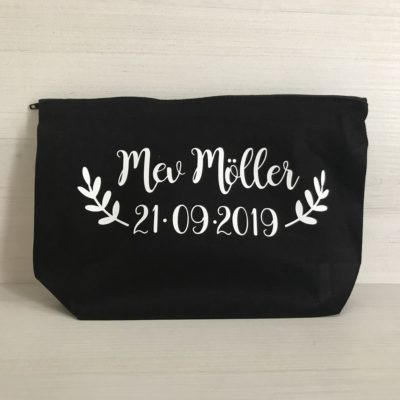 Custom Mrs Make Up Bag