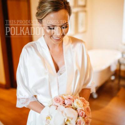 Ivory Bridal Robe