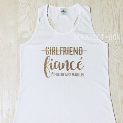 Girlfriend Fiance Tank Top